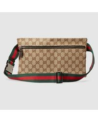 4aed462b65d Lyst - Gucci Original Gg Canvas Belt Bag in Natural