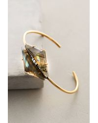 Indulgems | Metallic Blazed Arrow Cuff | Lyst
