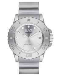 Emporio Armani - Metallic Strap Watch for Men - Lyst