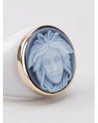 Amedeo | White Cameo Ring | Lyst