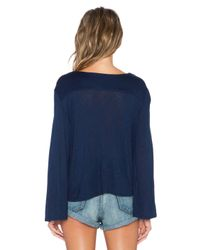 Blue Life - Blue Hayley Long Sleeve Top - Lyst