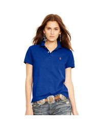 Polo Ralph Lauren - Blue Classic-fit Polo Shirt - Lyst
