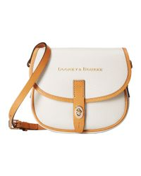 Dooney & Bourke | White Claremont Field Bag | Lyst