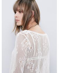 Free People - White Womens Sunday Maxi Top - Lyst