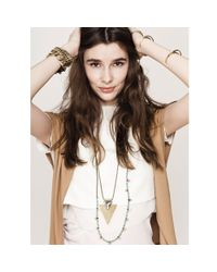 Jenny Bird | Metallic Shielded Necklace | Lyst