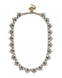 BaubleBar | Metallic Crest Collar-clear | Lyst