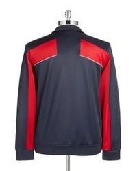 BOSS Green - Blue Colorblock Track Jacket for Men - Lyst