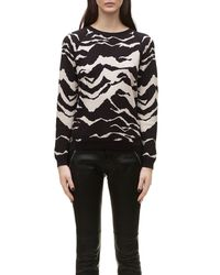 Whistles   Multicolor Mystic Mountain Jacquard Sweat   Lyst