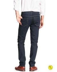 Banana Republic - Blue Factory Dark-rinse Skinny Jean for Men - Lyst
