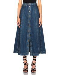 Rachel Comey - Blue Gore Skirt - Lyst