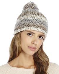 Steve Madden | Natural Time To Shine Beanie | Lyst