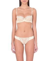 Heidi Klum Intimates | Natural Amelie Underwired Bra | Lyst