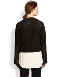 Rag & Bone - Black Elettra Leather Biker Jacket - Lyst