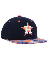 KTZ - Blue Houston Astros Floral Viz 9fifty Snapback Cap for Men - Lyst