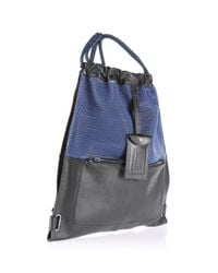 DIESEL | Black Distressed Shoulder Bag for Men | Lyst