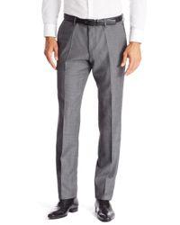 BOSS - Gray 't-gleeve' | Slim Fit, Italian Virgin Wool Dress Pants for Men - Lyst