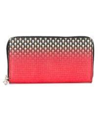 Alexander McQueen - Red Gradient Print Wallet - Lyst