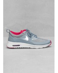 hot sale online f5869 5752a Other Stories. Women s Gray Nike Air Max Thea Premium