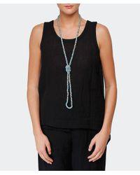 Jianhui - Metallic Pashmina Chain Necklace - Lyst