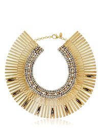 Iosselliani | Metallic Tribal Deco Necklace | Lyst