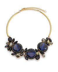 Marni | Blue Floral Collar Necklace | Lyst