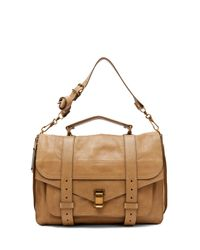 Proenza Schouler Natural Large Ps1 Leather