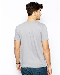 Paul Smith - Gray Tshirt with Original Brand Print for Men - Lyst