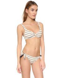 Solid & Striped - Black Jane Bikini Top - Lyst