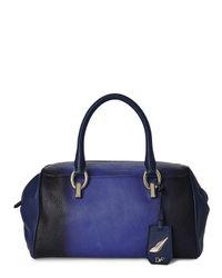 Diane von Furstenberg - Blue Ombrã© Sutra Duffle Bag - Lyst