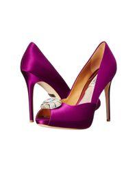 Badgley Mischka   Purple Pearla   Lyst