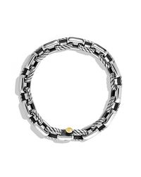 David Yurman | Metallic Empire Link Bracelet With Gold for Men | Lyst