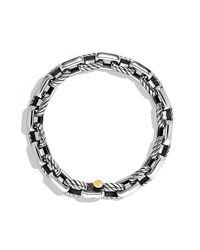 David Yurman - Metallic Empire Link Bracelet With Gold for Men - Lyst