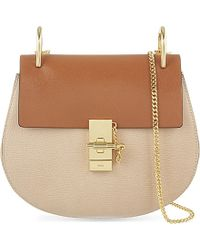 Chloé - Natural Drew Small Leather Cross-Body Bag - Lyst