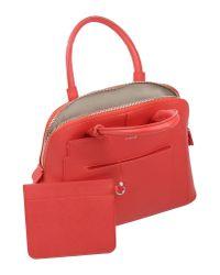 Pinko - Red Handbag - Lyst