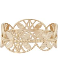 Grace Lee - Metallic Gold Lace Aztec Ring - Lyst