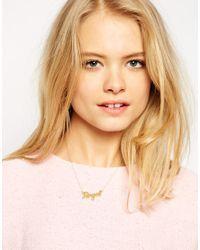 Stella & Bow | Metallic Jane Royal Necklace | Lyst