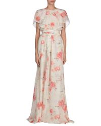 Giambattista Valli - White Long Dress - Lyst