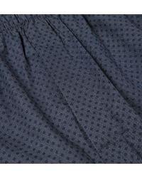 Sunspel   Blue Men's Long-staple Cotton Seasonal Boxer Short for Men   Lyst