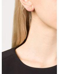 Marie-hélène De Taillac | Metallic 22kt Gold Star And Lightning Bolt Earrings | Lyst