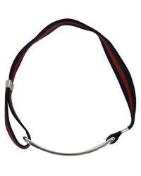 Gilbert Gilbert | Blue Boucle Navy Bracelet for Men | Lyst