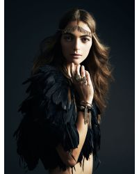 Jenny Bird - Metallic Luna Warrior Wrap - Gold - Lyst