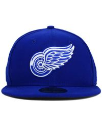 KTZ | Blue Detroit Red Wings C-dub 59fifty Cap for Men | Lyst