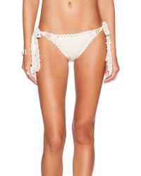 Anna Kosturova - Natural Brigette Bardot Bikini Bottoms - Lyst