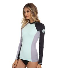 Rip Curl - Blue Surf Session Long Sleeve - Lyst