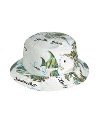 Huf - White The Makapuu Bucket Hat for Men - Lyst