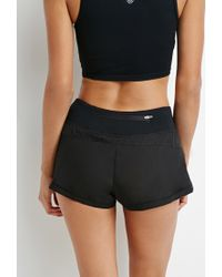 Forever 21 | Black Layered Running Shorts | Lyst