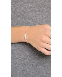 Monica Vinader - Metallic Baja Mini Bracelet - Lyst