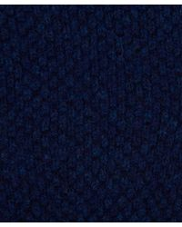 Howlin' By Morrison - Blue Navy Herbie Texture Lambswool Gloves for Men - Lyst