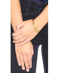 Marc By Marc Jacobs | Purple Standard Supply Hinge Cuff Bracelet - Garnet | Lyst