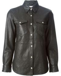 Étoile Isabel Marant | Black 'brent' Shirt | Lyst